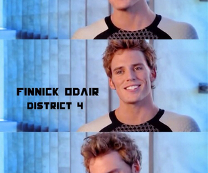 finnick odair, catching fire, and district 4 image