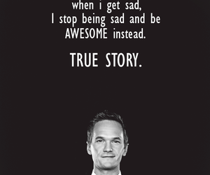 awesome, how i met your mother, and barney image