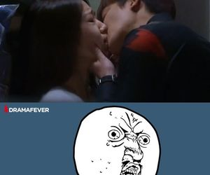 lee min ho, kiss scene, and park shin hye image