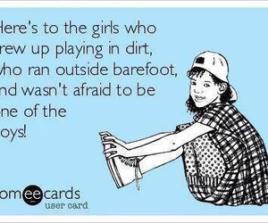 tomboy, dirt, and quote image