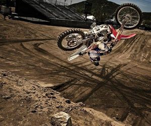 freestyle, jump, and motocross image