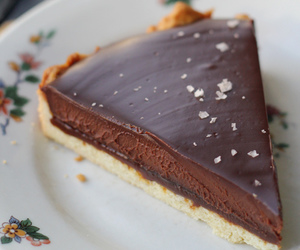 caramel, tart, and chocolate image