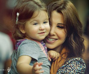 beautiful, mother, and nancy ajram image