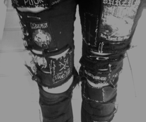 jeans, black, and black and white image