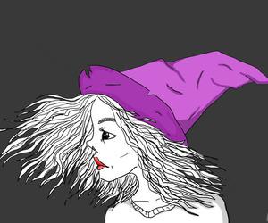 girl, hat, and valerism image