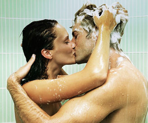 sex, shower, and wet image