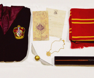 collection, deathly hallows, and gryffindor image