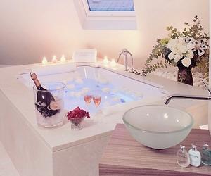 bath, luxury, and house image