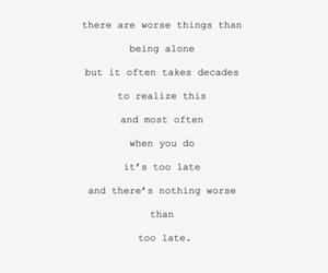 quotes, alone, and text image