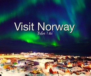 norway, visit, and before i die image