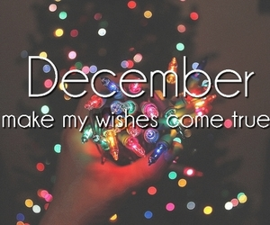 december, christmas, and wish image