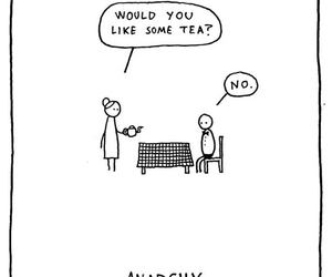 anarchy, uk, and tea image