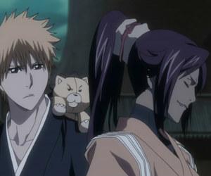 anime, bleach, and yoruichi image