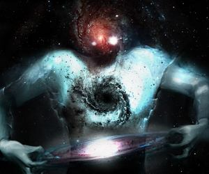 cosmos, galaxy, and transcend image