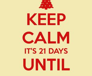 christmas and keep calm image