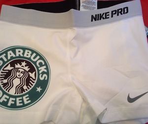 cheer, starbucks, and nikepro image