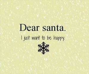 santa, christmas, and happy image