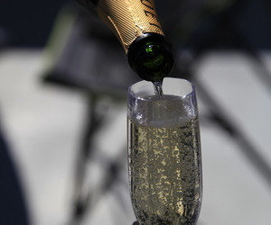 drink, champagne, and moet image