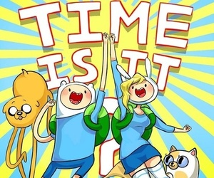 adventure time, humans, and finn image