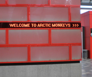 arctic monkeys, welcome, and concert image