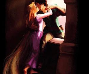 rapunzel, disney, and love image