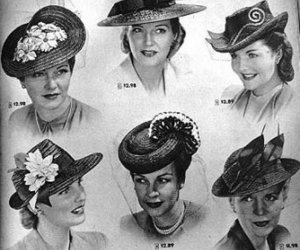 50s, hat, and hats image