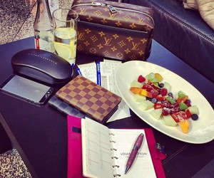 fruit, luxury, and Louis Vuitton image