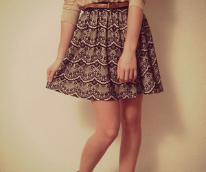jupe, outfit, and outfits image