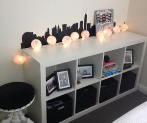home, lights, and room image