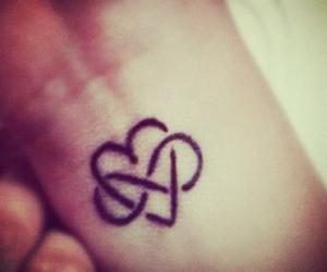 girl, love, and infinity image