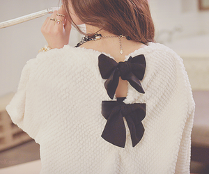 fashion, cute, and bow image