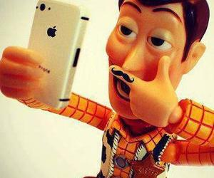 toy story, woody, and ♥ image