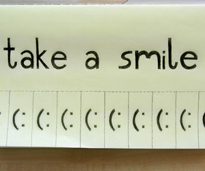 smile, quote, and take image