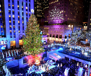 christmas, new york, and winter image
