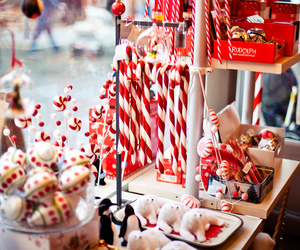 christmas, winter, and candy image