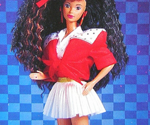 80's and barbie image