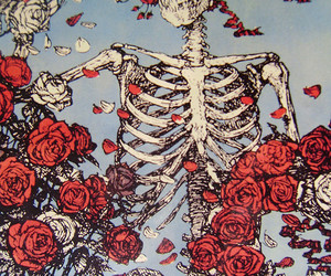 acid, grateful dead, and death image