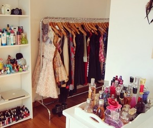closet, room, and girly image