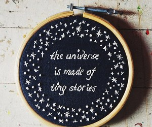 universe, stars, and quotes image