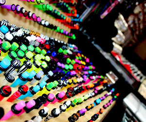 Plugs, colors, and tapers image