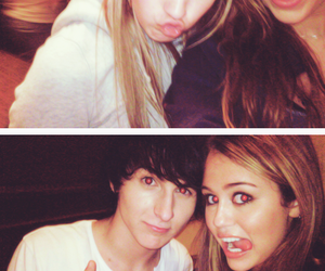 miley cyrus, emily osment, and mitchell musso image