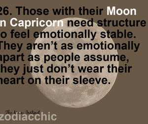 moon and capricorn image