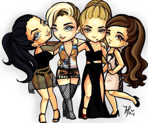 katy perry, ariana grande, and miley cyrus image