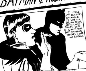 batman, sonic youth, and comics image