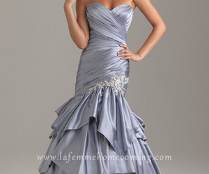 silver evening dresses, night moves 6409, and silver evening gowns image
