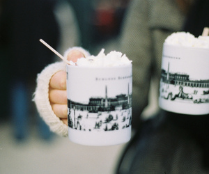 coffee, photography, and winter image