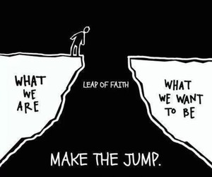 jump, quotes, and faith image