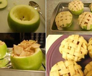 apple, diy, and pie image