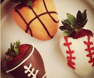 sports and strawberry image