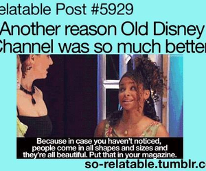 true, tv, and old disney image